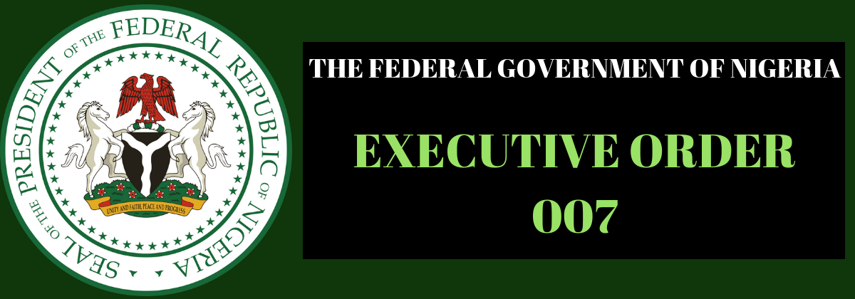 Executive Order 7 Of 2019 On The Road Infrastructure Development And Refurbishment Investment Tax Credit Scheme