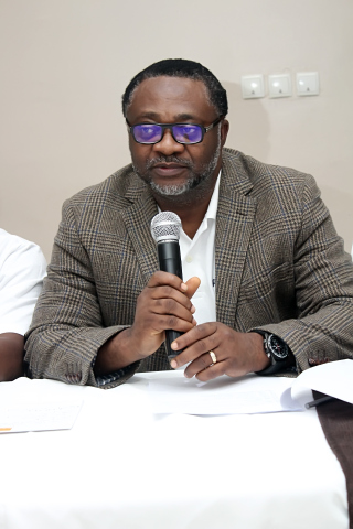The Managing Partner during a deliberation session