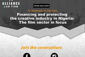 Financing and Protecting the Creative Industry in Nigeria: The Film Sector in Focus
